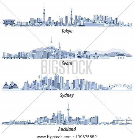 Tokyo, Seoul, Sydney, Auckland_3