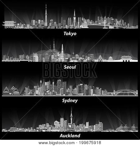 Tokyo, Seoul, Sydney, Auckland_4