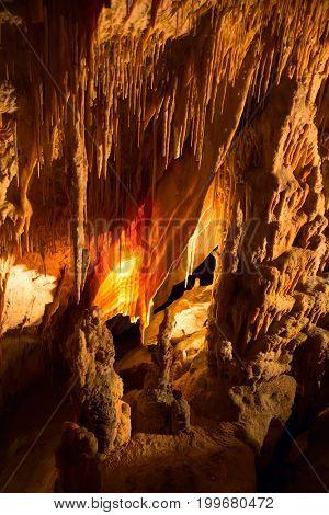 Famous cave