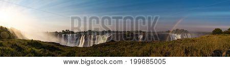 The Great Victoria Falls (zimbabwe)