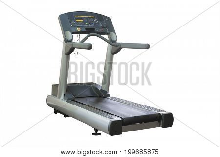 Fitness machine isolated