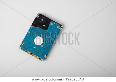 Computer Hard Drive SATA isolated on white background