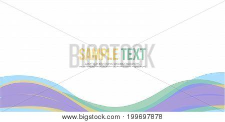 Abstract design banner website header vector illustration