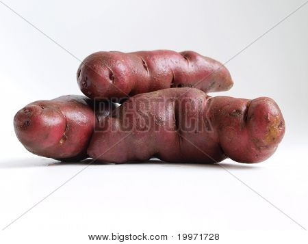 Native potatoes from the Andes, Peru