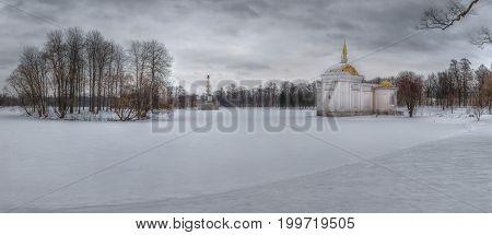 Turkish bath, Catherine Park, Tsarskoe Selo, St. Petersburg