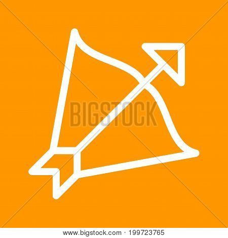 Sagittarius, sign, zodiac icon vector image. Can also be used for Zodiac. Suitable for use on web apps, mobile apps and print media.