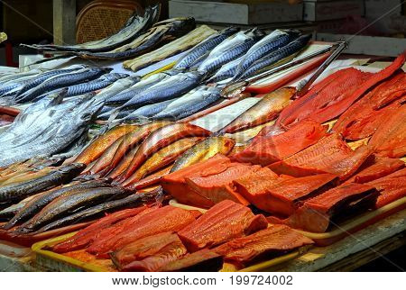 Salted And Preserved Fish