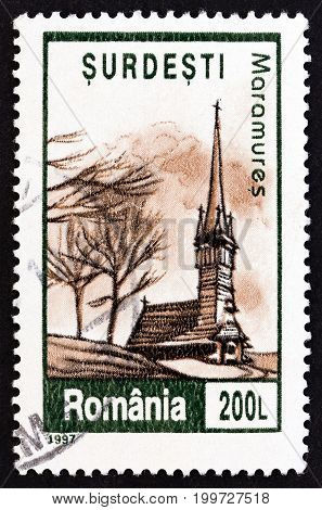 ROMANIA - CIRCA 1997: A stamp printed in Romania from the