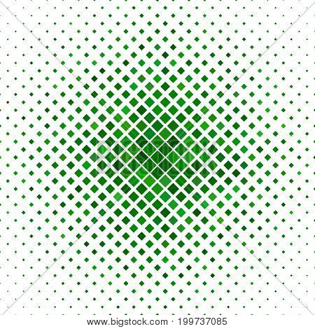 Abstract diagonal square pattern background - geometrical vector illustration from green squares