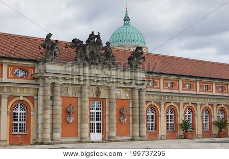 Museum of cinematic, one of the famous places of Potsdam, Germany, Europe