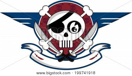 Skull Pirate Icon.eps
