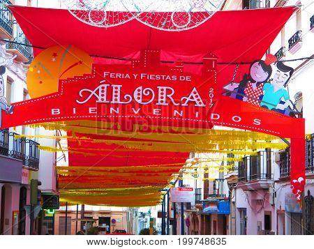 Feria Portal For Annual Village Festival