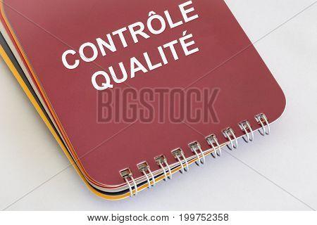 contrôle de qualité - French words for Quality Control