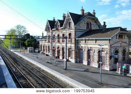 Beautiful old railway station
