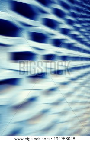 Motion Blurred Abstract Futuristic Background