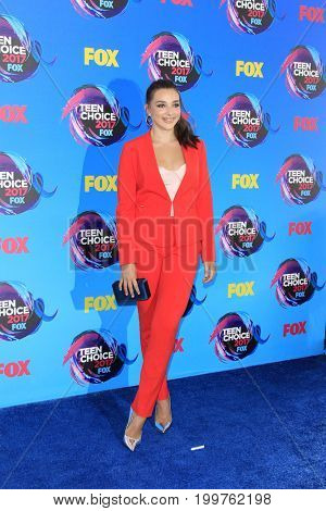 LOS ANGELES - AUG 13:  Kendall Vertes at the Teen Choice Awards 2017 at the Galen Center on August 13, 2017 in Los Angeles, CA