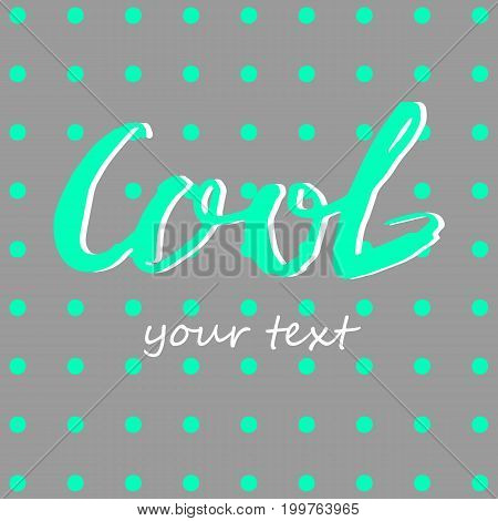 lettering poster calligraphy card illustration quote cool ink letter text type
