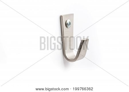 Strong Steel Wall Hanger Hook on white background