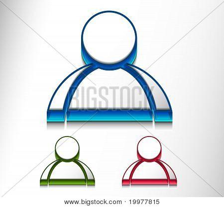 User Web Icon Set