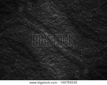 Dark Grey Black Slate Background