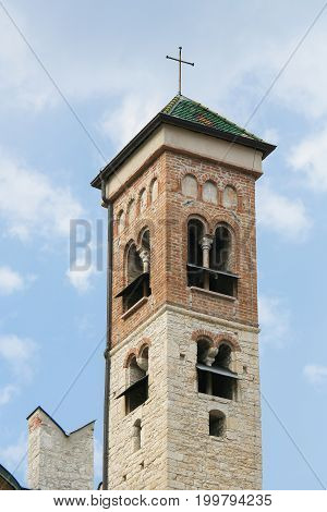 Tower Of The Cathedral Of Trento