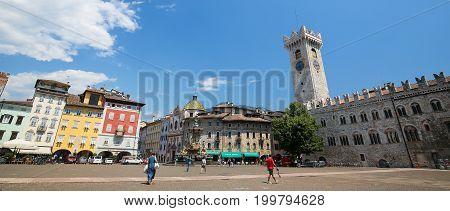 Torre Civica In Trento, Italy