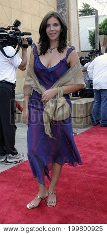Audrey Gutierrez Alea at the 8th Los Angeles Latino International Film Festival held at the Egyptian Theater in Hollywood, USA on July 16, 2004.