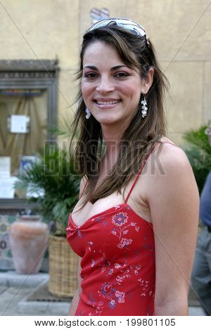 Carolina Bacardi at the 8th Los Angeles Latino International Film Festival held at the Egyptian Theater in Hollywood, USA on July 16, 2004.