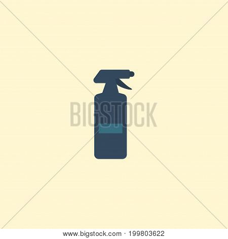 Flat Icon Spray Element. Vector Illustration Of Flat Icon Hairspray Isolated On Clean Background