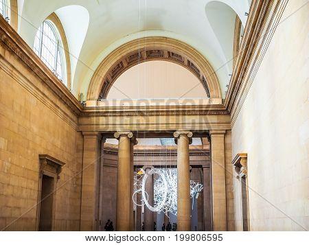 Tate Britain In London (hdr)