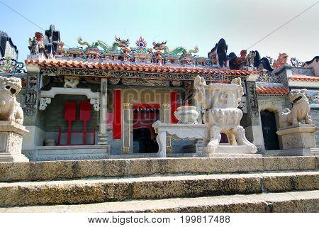 Tin Hau (Mazu, Sea Goddess) Temple - Cheung Chau - Hong Kong