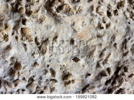Light grey stone porous background texture limestone flagstone