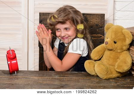 Little Baby Secretary With Bear