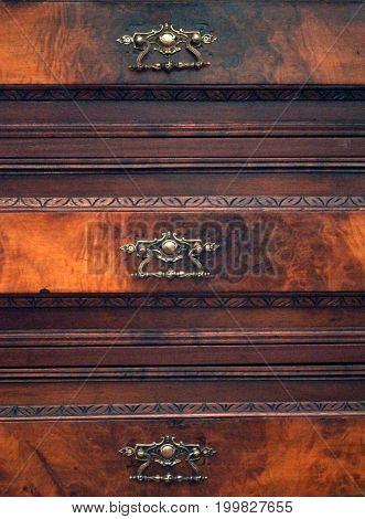 Vintage wooden brown background. Background for text, banner, label