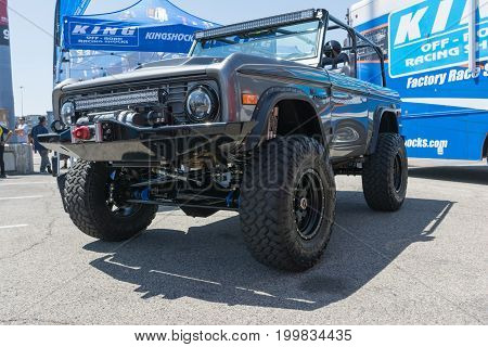 Ford Bronco On Display During Dub Show Tour