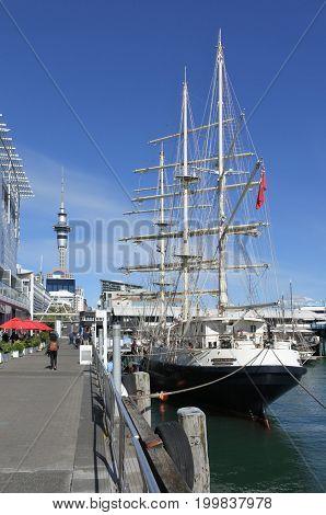 The Tall Ship Spirit Of New Zealand