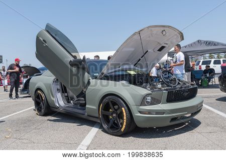 Ford Mustang 5Th Generation On Display During Dub Show Tour