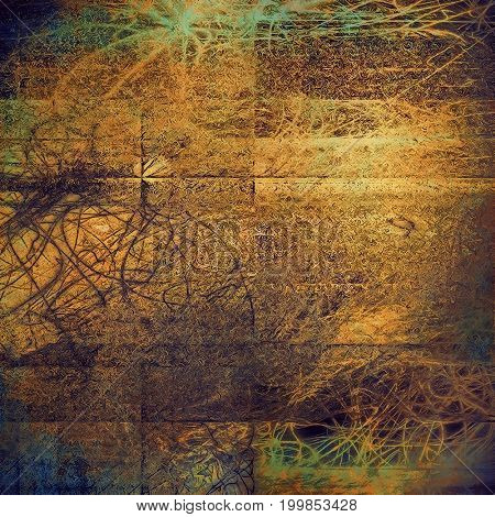 Retro abstract background, vintage grunge texture with different color patterns