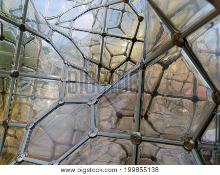 HAKONE, JAPAN - JULY 02, 2017: The Soap Bubble Castle, Hakone Open-Air Museum on April 10, 2013. the Hakone Open-Air Museum opened in 1969 as the first open-air art museum in Japan.