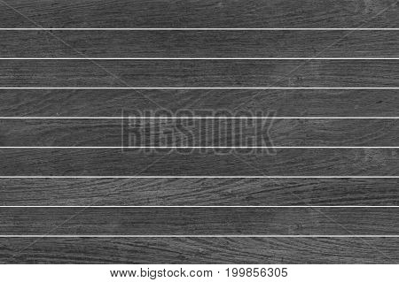 Black Wood fence or Black Wood wall background