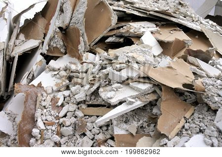 Construction Waste Background