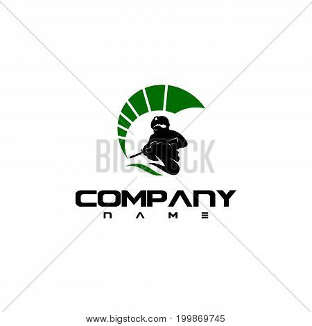 Spartan logo. Old Vintage Antiques Spartan warrior vector design