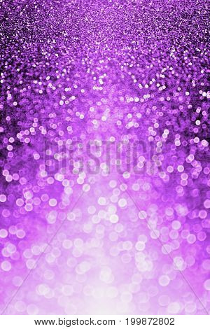 Abstract dark purple Halloween dance glitter background