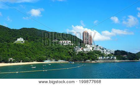 Hong Kong Repulse Bay Beach.