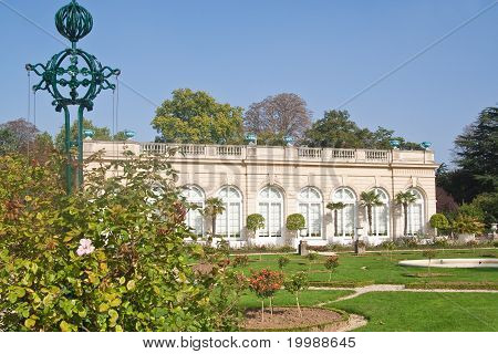 Park Bagatelle In The Bois De Boulogne In Paris