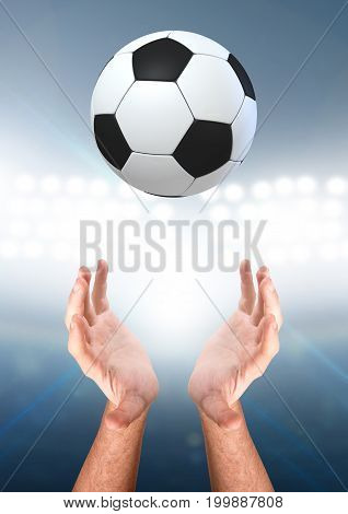 Hands Catching Ball