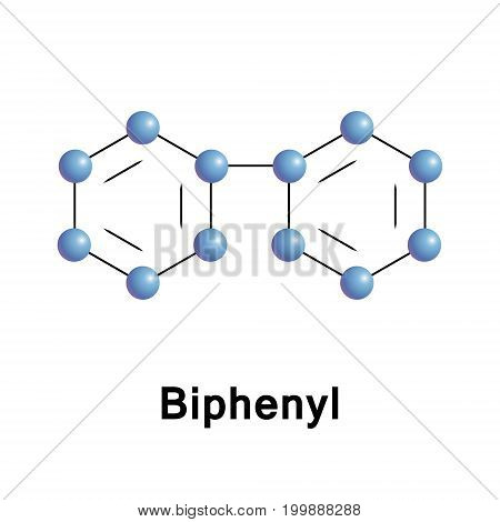 Biphenyl is an organic compound that is notable as a starting material for the production of polychlorinated biphenyls or PCBs