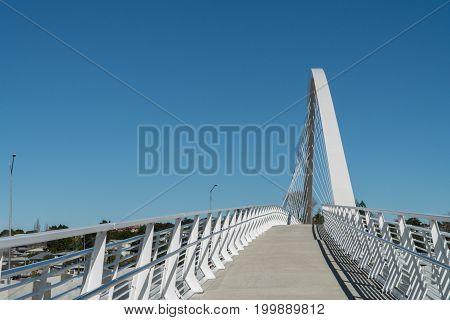 Motorway Over Bridge at Hendon Park in Auckland New Zealand