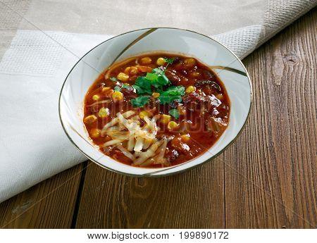 Super Chorizo Chili Bowls