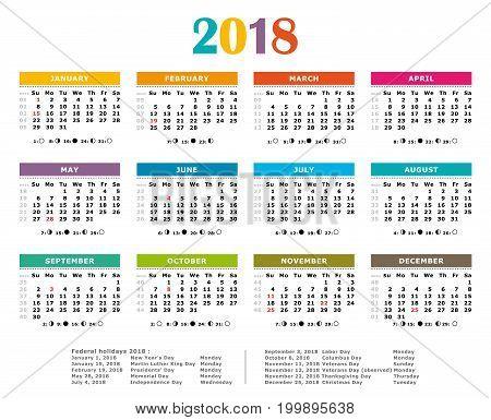 Calendrier 2018Fra11Francexs